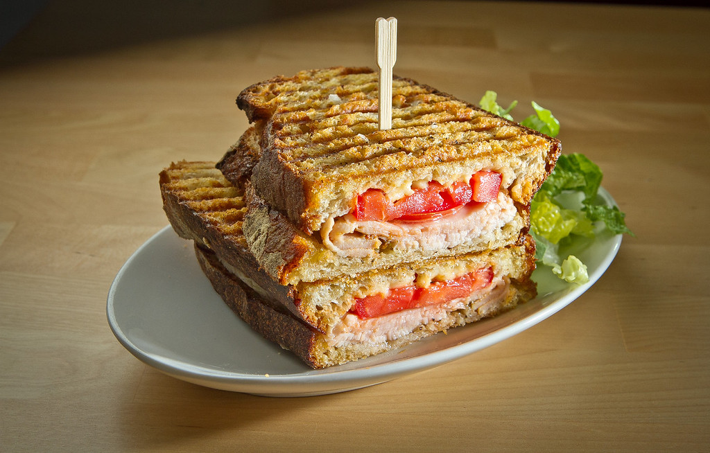 The Turkey sandwich plate at Cassava Bakery & Cafe in San Francisco, Calif., is seen on Saturday, August 18th, 2012.