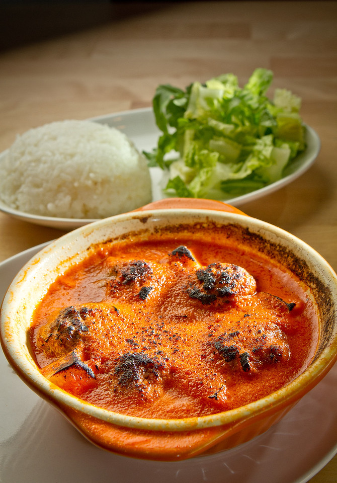 The Meatballs in Curry Rice at Cassava Bakery & Cafe in San Francisco, Calif., is seen on Saturday, August 18th, 2012.