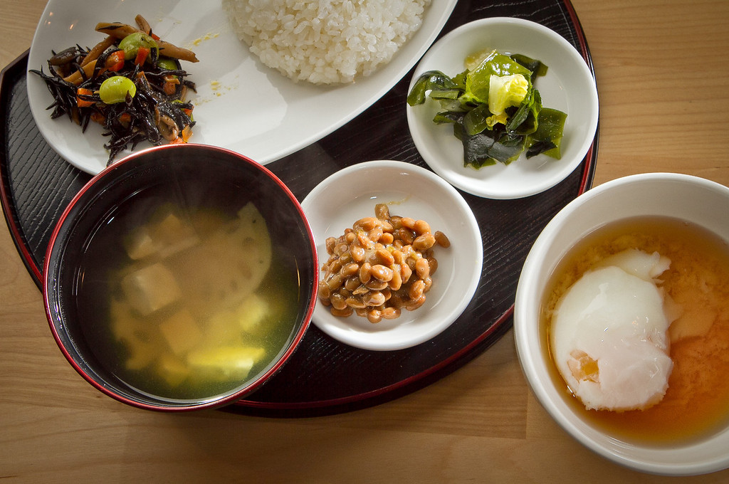 The Japanese Breakfast at Cassava Bakery & Cafe in San Francisco, Calif., is seen on Saturday, August 18th, 2012.