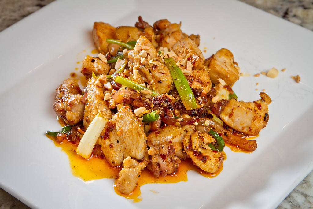 Lemongrass Chicken from Chef Charles Phan's  from his cook book  in Mill Valley on Tuesday, September 11th, 2012.
