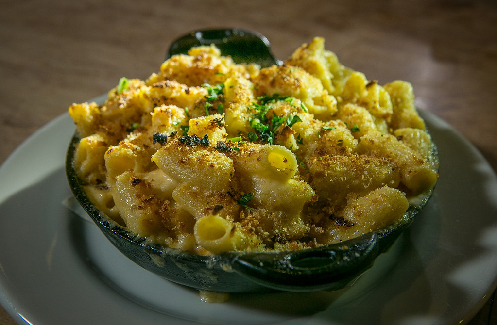 The Mac-and-Cheese at the Chop Bar in Oakland, Calif., is seen on Thursday, February 7th, 2013.