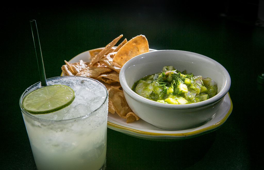 A Margarita with the Ceviche at Comal restaurant in Berkeley, Calif., is seen on Thursday, January 10th, 2013.