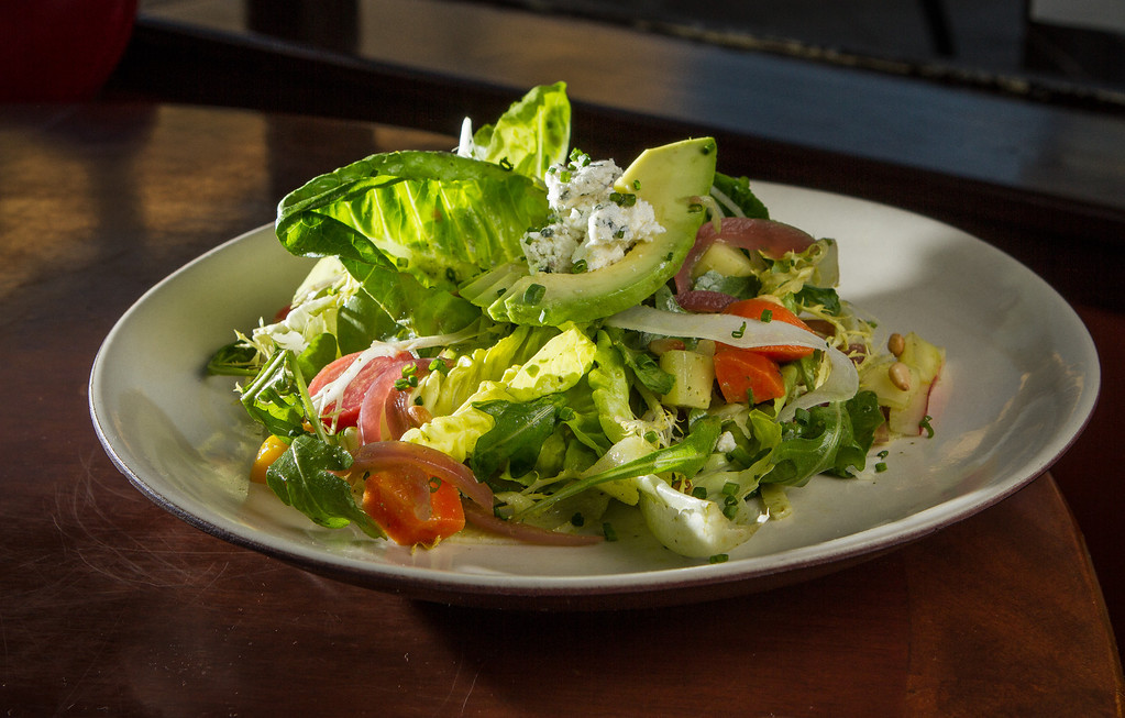 The Vegetable Salad at Company restaurant in San Francisco, Calif., is seen on Friday, December 7th, 2012.
