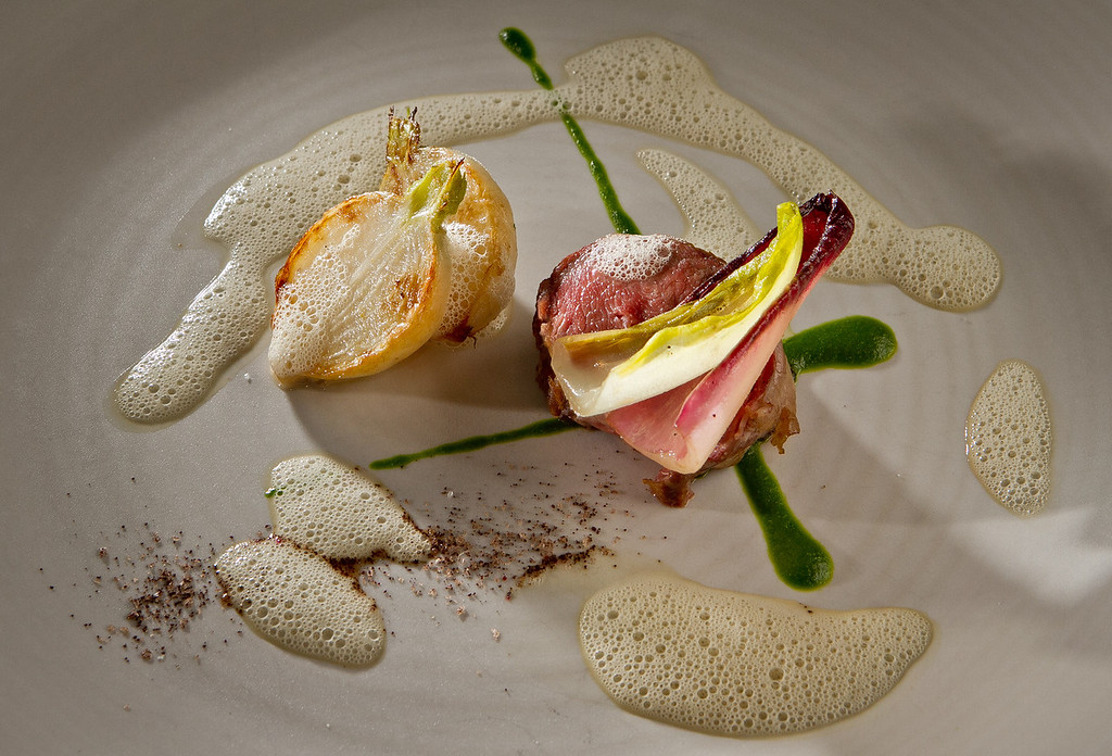 The Lamb entree at Dixie Restaurant in San Francisco, Calif., is seen on Friday, August 3rd, 2012.