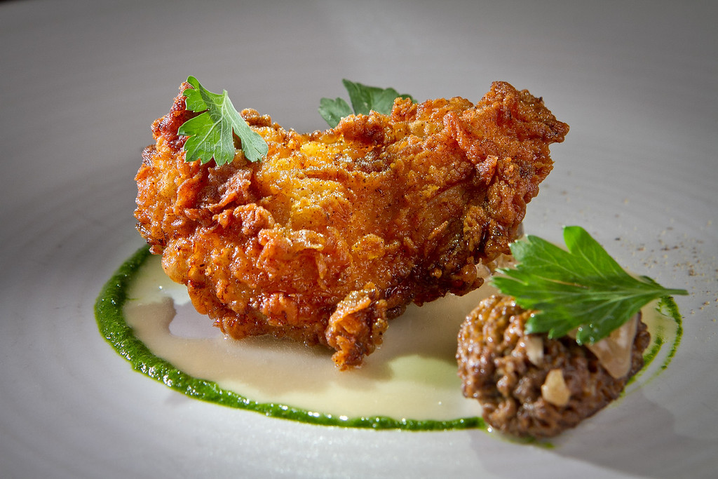 The Chicken Fried Quail at Dixie Restaurant in San Francisco, Calif., is seen on Friday, August 3rd, 2012.