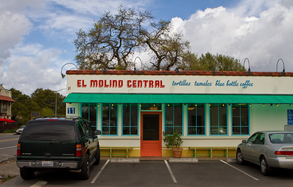 The exterior of El Molina Central in Boyes Hot Springs, Calif. is seen on April 12th, 2012.