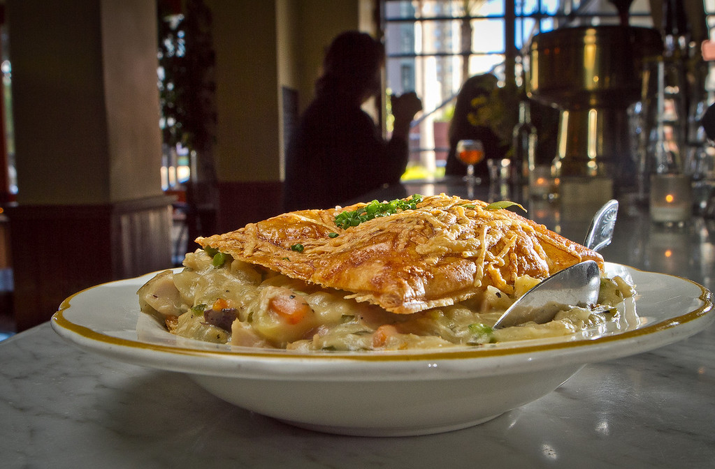 The Chicken Pot Pie at Fat Angel in San Francisco, Calif., is seen on Wednesday, June 20th, 2012.