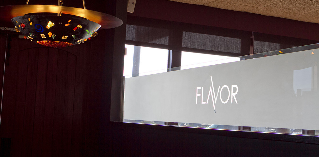 The interior of Flavor Restaurant in El Granada,  Calif., is seen on Thursday, March 22nd, 2012.