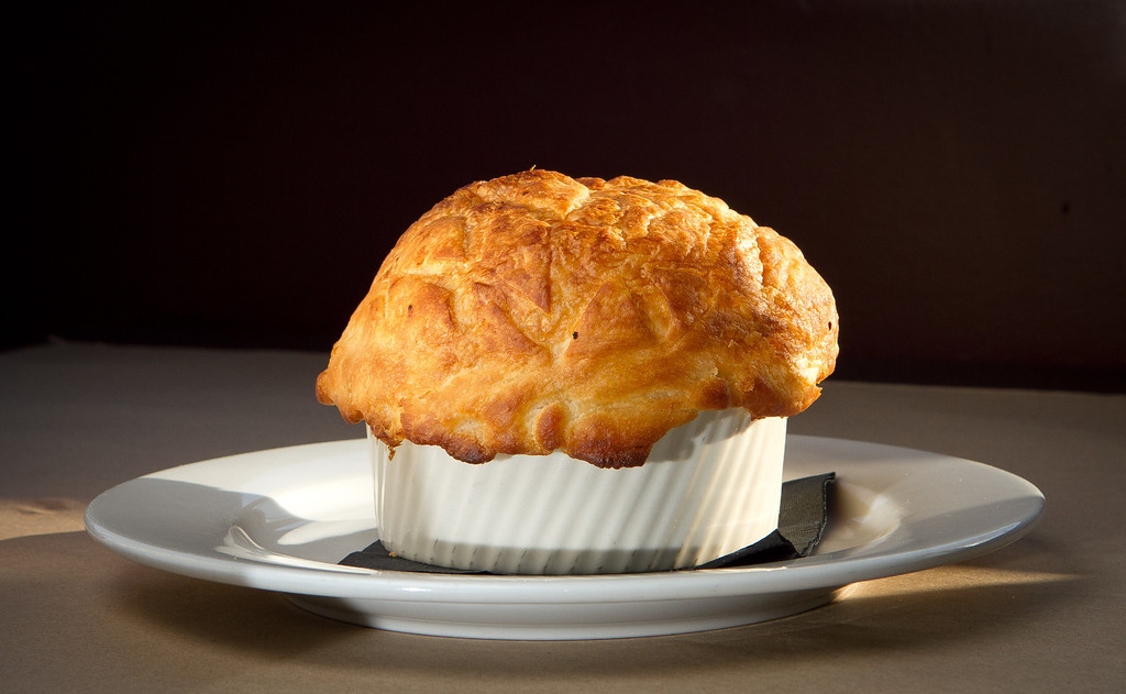 The Chicken Pot Pie at Flavor Restaurant in El Granada,  Calif., is seen on Thursday, March 22nd, 2012.