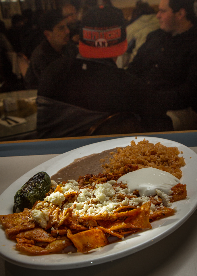 The Chilaquiles at Gallardo's restaurant in San Francisco, Calif. is seen on Sunday, December 16th, 2012.