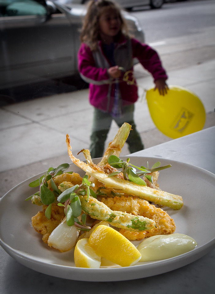 The Fritto Misto at Giola Pizzeria in San Francisco, Calif., is seen on Friday, June 22nd, 2012.