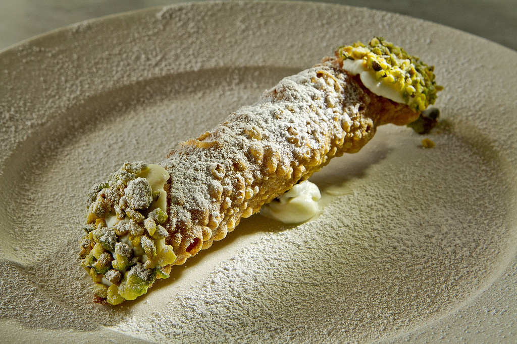 The Cannoli at Giola Pizzeria in San Francisco, Calif., is seen on Friday, June 22nd, 2012.