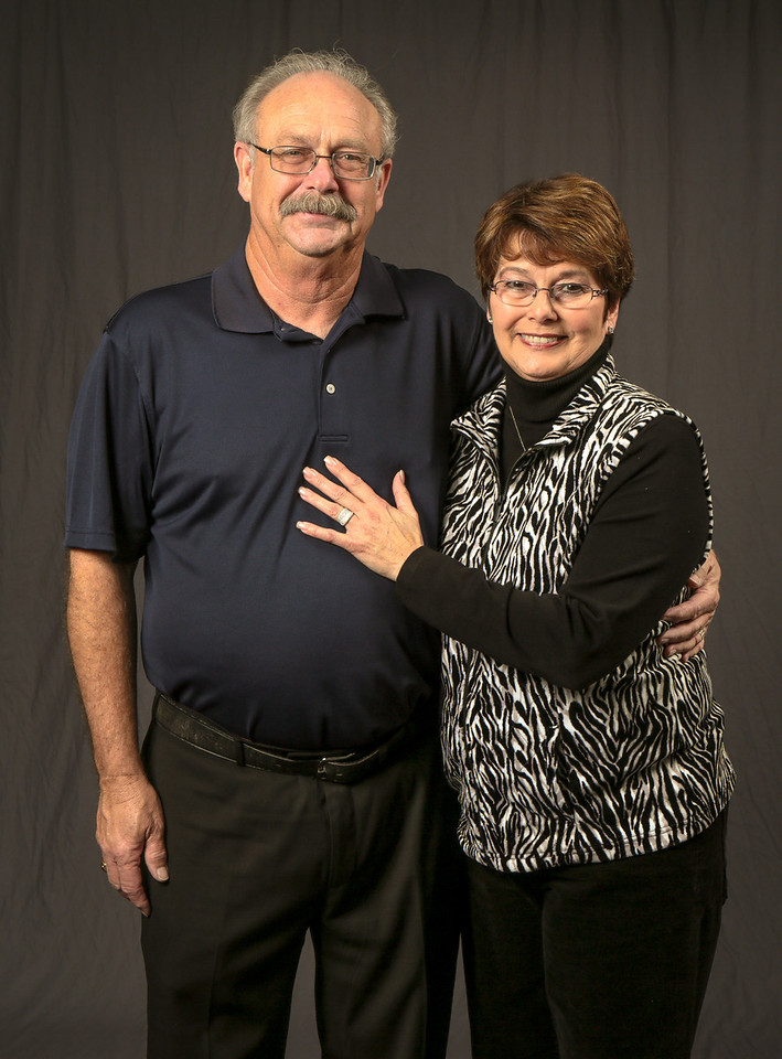 Joe and Cathy Lopez at the IBEW Service Dinner in San Jose on Friday, January 25th, 2013.