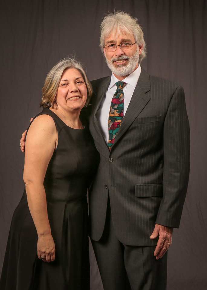 Chris and Helen McKernan at the IBEW Service Dinner in San Jose on Friday, January 25th, 2013.