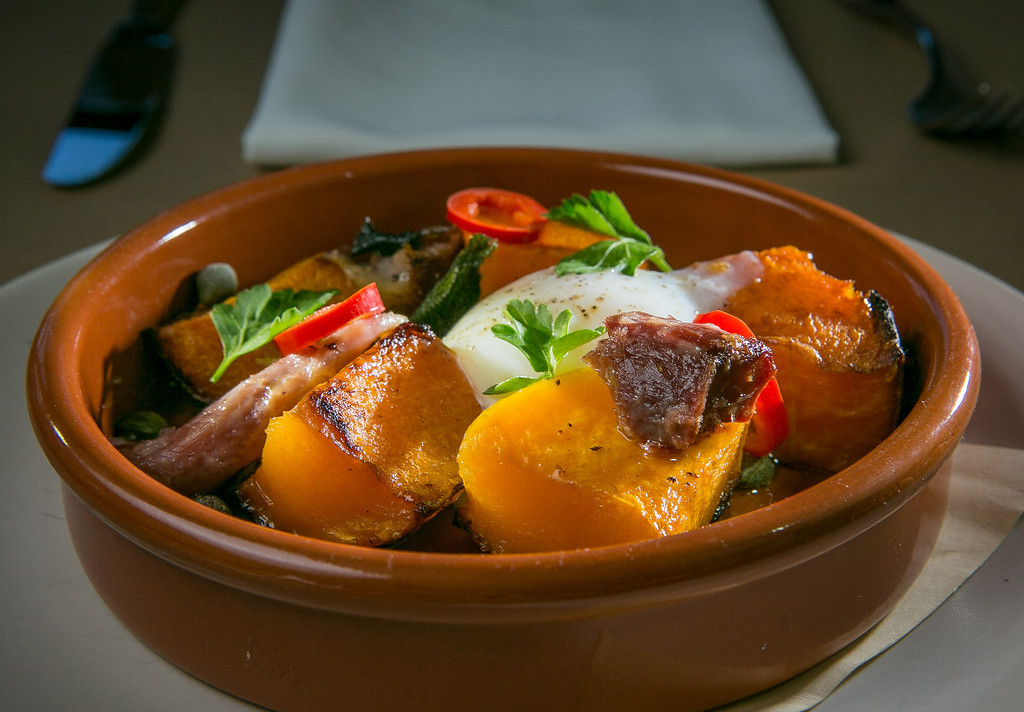 The Roasted Squash at the Hillside Supper Club in San Francisco, Calif. is seen on Saturday, February 22nd 2013.