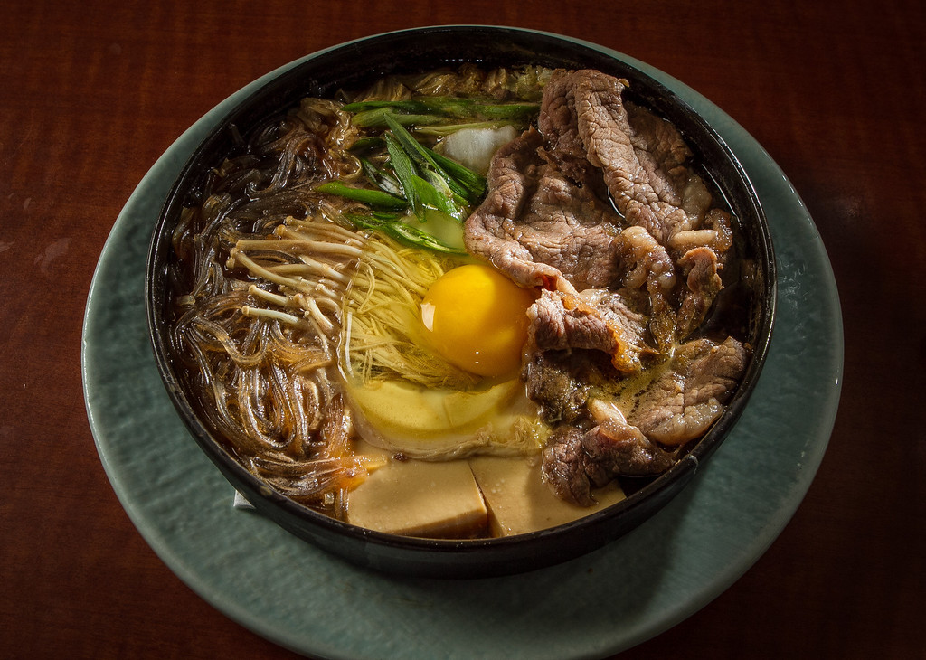 The Sukiyaki at Hisago restaurant in San Francisco, Calif. is seen on Sunday, February 10th, 2013.