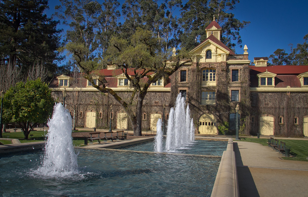 The Inglenook Winery in Rutherford, Calif., is seen on Friday April 20th, 2012.