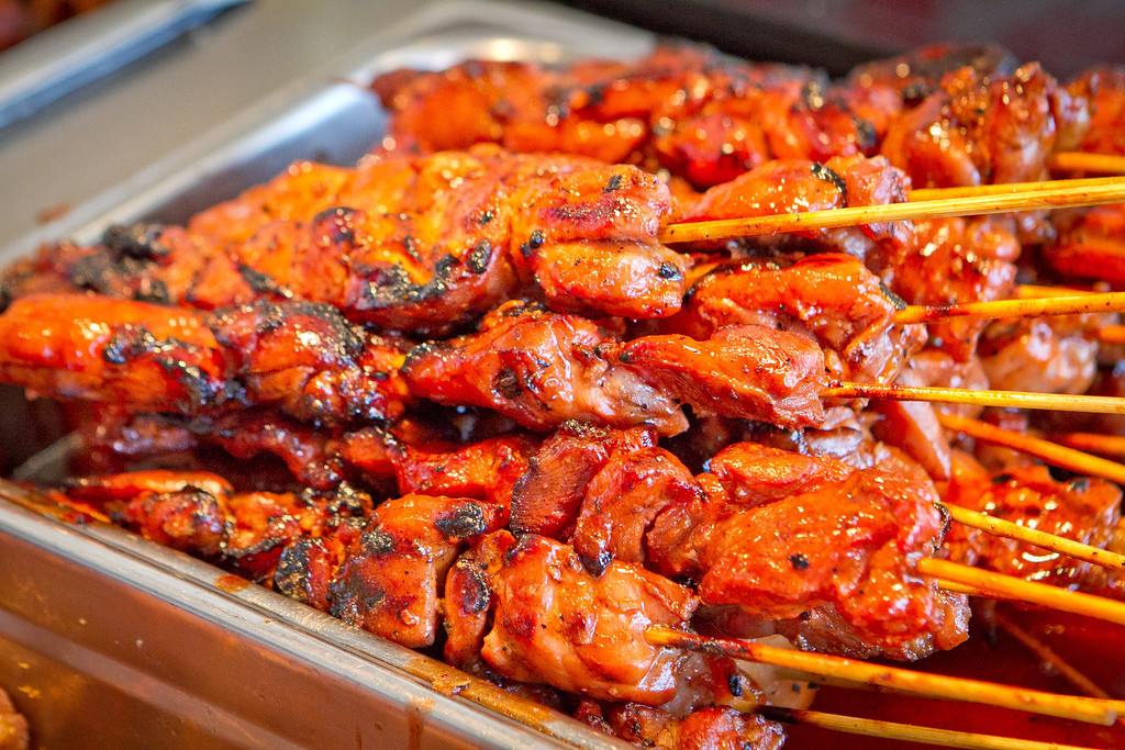 The BBQ Chicken at Irma's Pampanga Restaurant in San Francisco, Calif., is seen on April 27th, 2012.