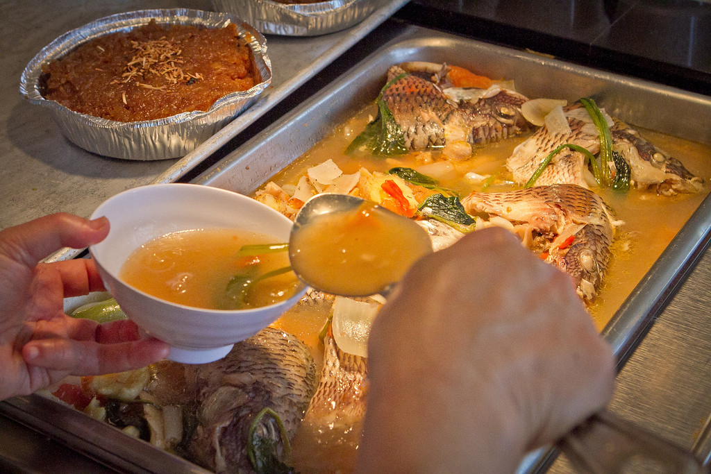 Pinangat Na Tilapia being served at Irma's Pampanga Restaurant in San Francisco, Calif., on April 27th, 2012.