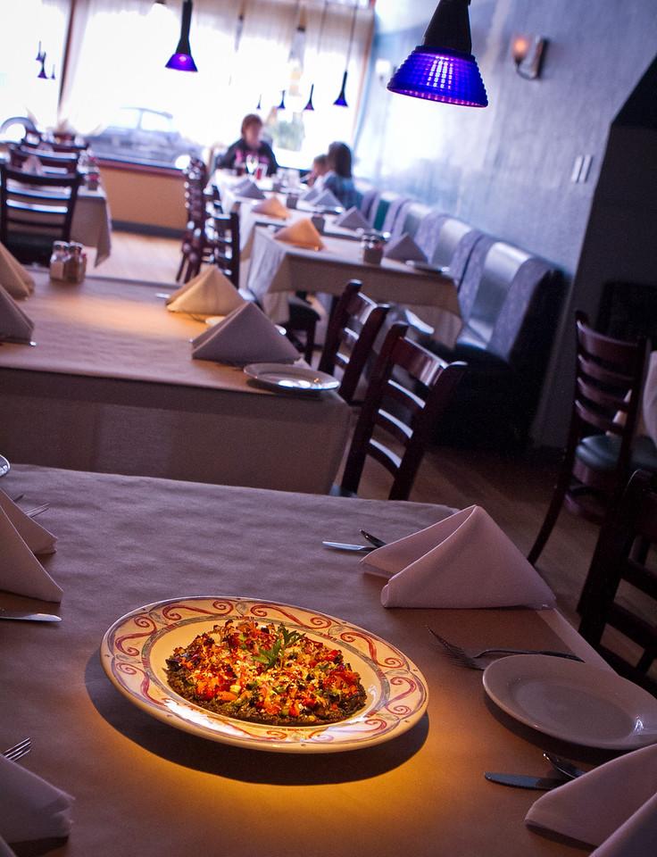Safeehat Falafel at Jannah restaurant in San Francisco is seen on Thursday, September 13th, 2012.