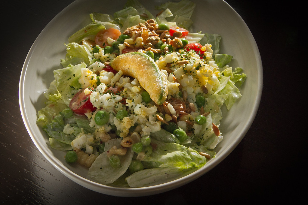 The Chop-Chop Salad at Jasper's Corner Tap & Kitchen in San Francisco, Calif., is seen on Friday, September 23rd, 2011.