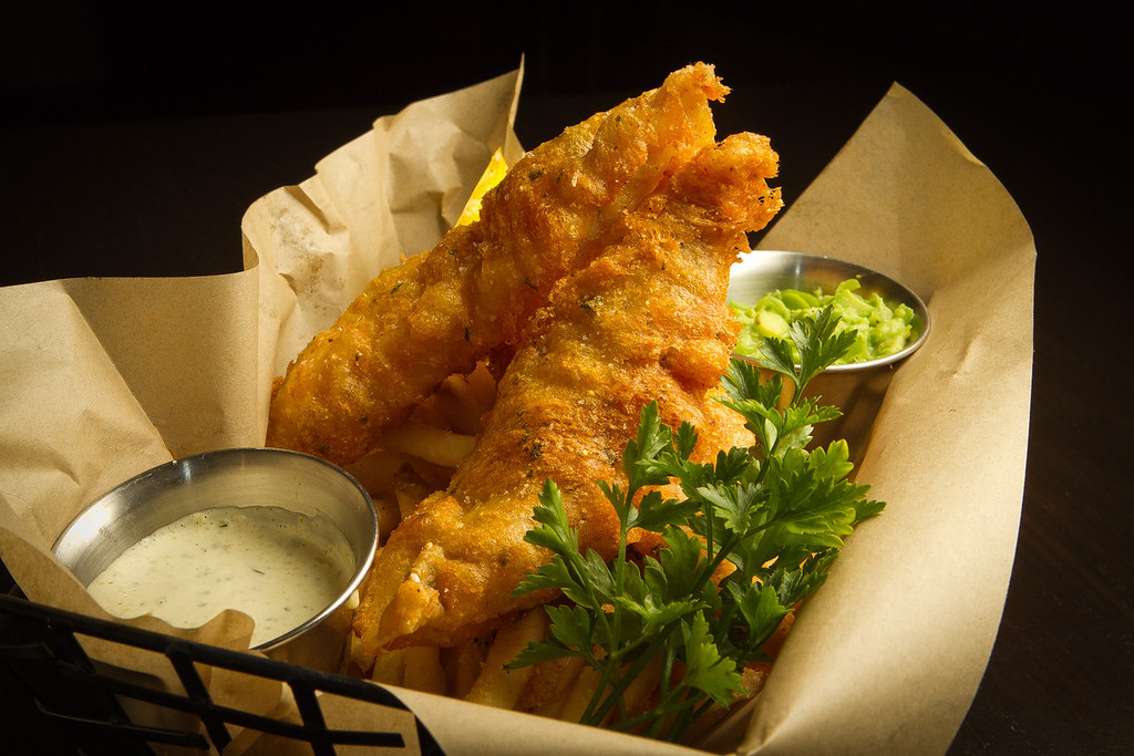 The Fish and Chips at Jasper's Corner Tap & Kitchen in San Francisco, Calif., is seen on Friday, September 23rd, 2011.