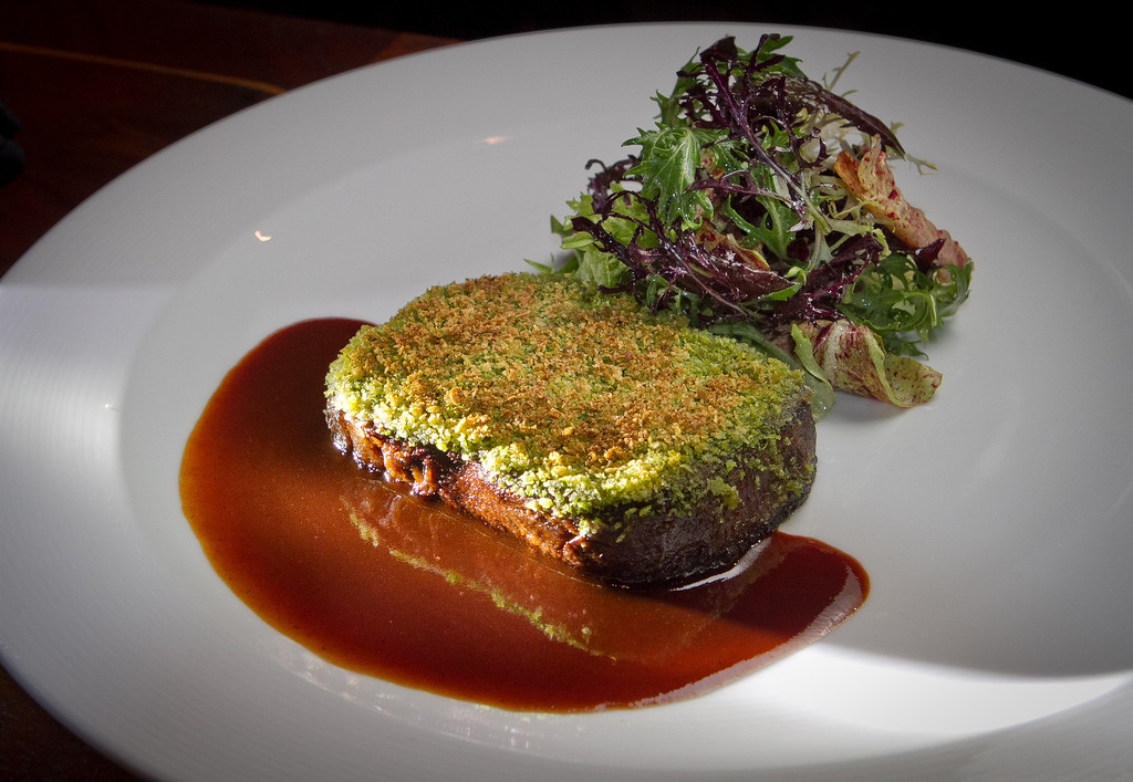 The Beef Tongue Persillade at Keiko Restaurant in San Francisco, Calif., is seen on Friday, January 20th, 2012.