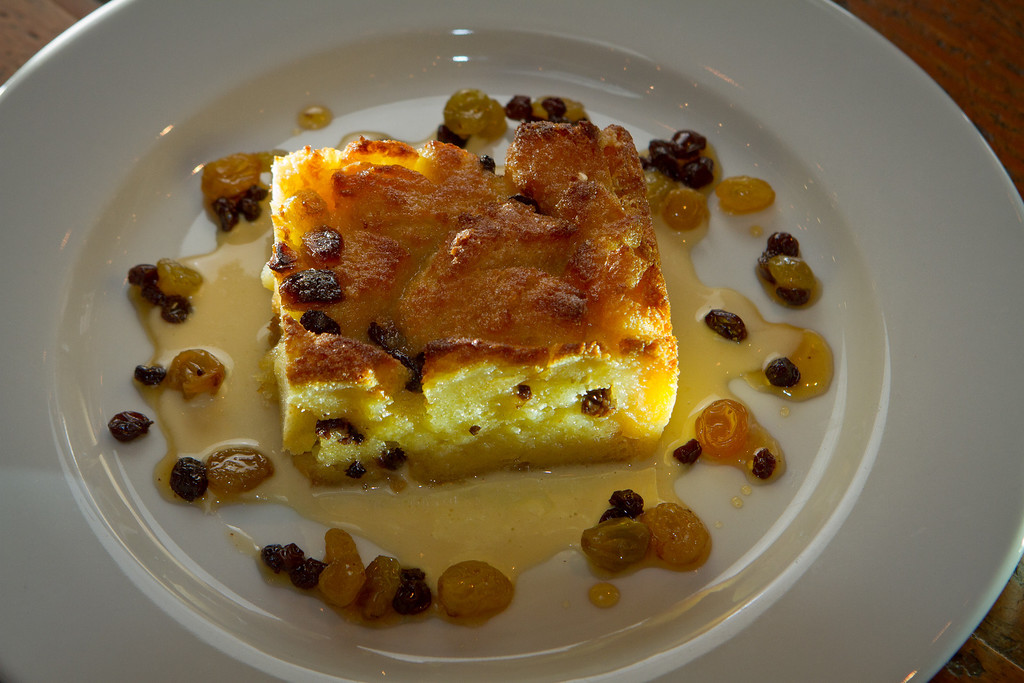 The Bread Pudding at the Kitchen Door restaurant in Napa, Calif., is seen on August 12th, 2011.