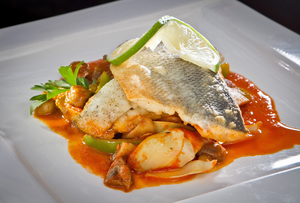 The Branzino at Lokanta restaurant in Pleasanton, Calif., is seen on Friday, June 15th, 2012.