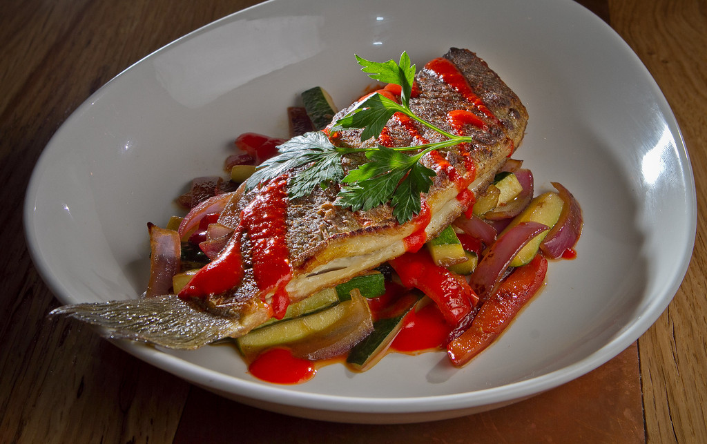 The Branzino at Lolinda Steakhouse in San Francisco, Calif., is seen on Friday, October 19th, 2012.