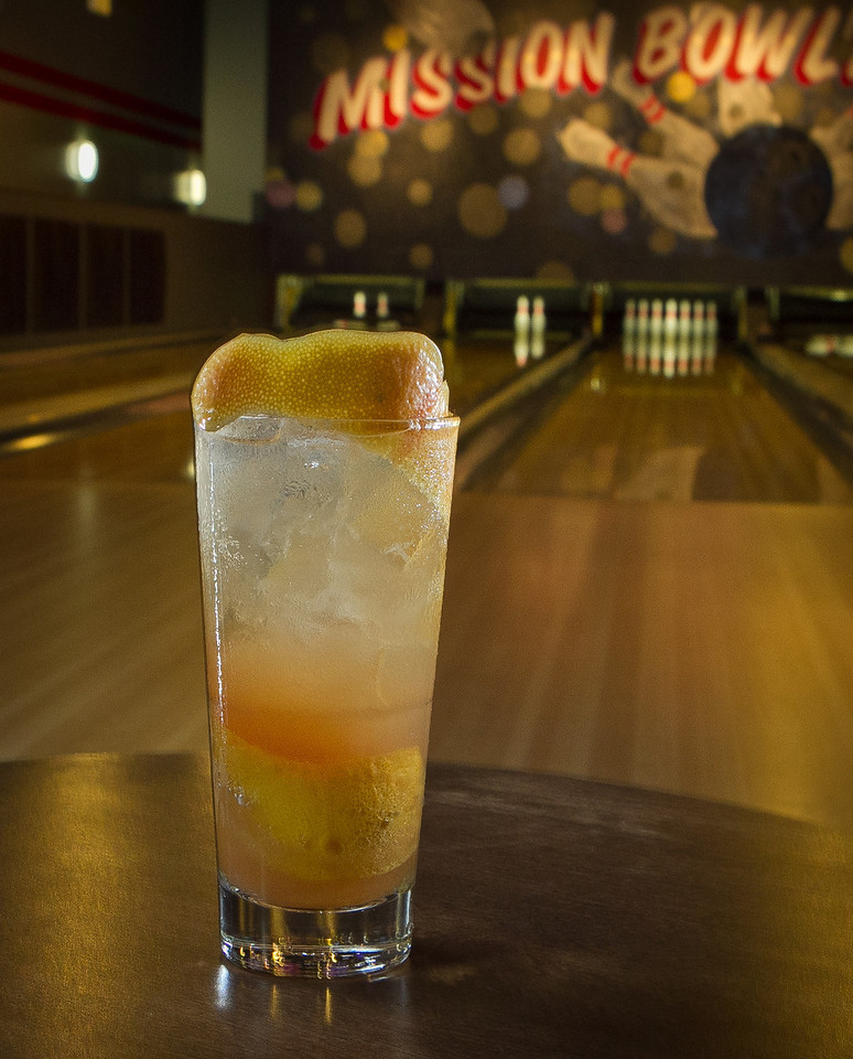 "The ""Cooler"" cocktail at the Mission Bowling Club in San Francisco, Calif., is seen on Friday, May 11th, 2012."