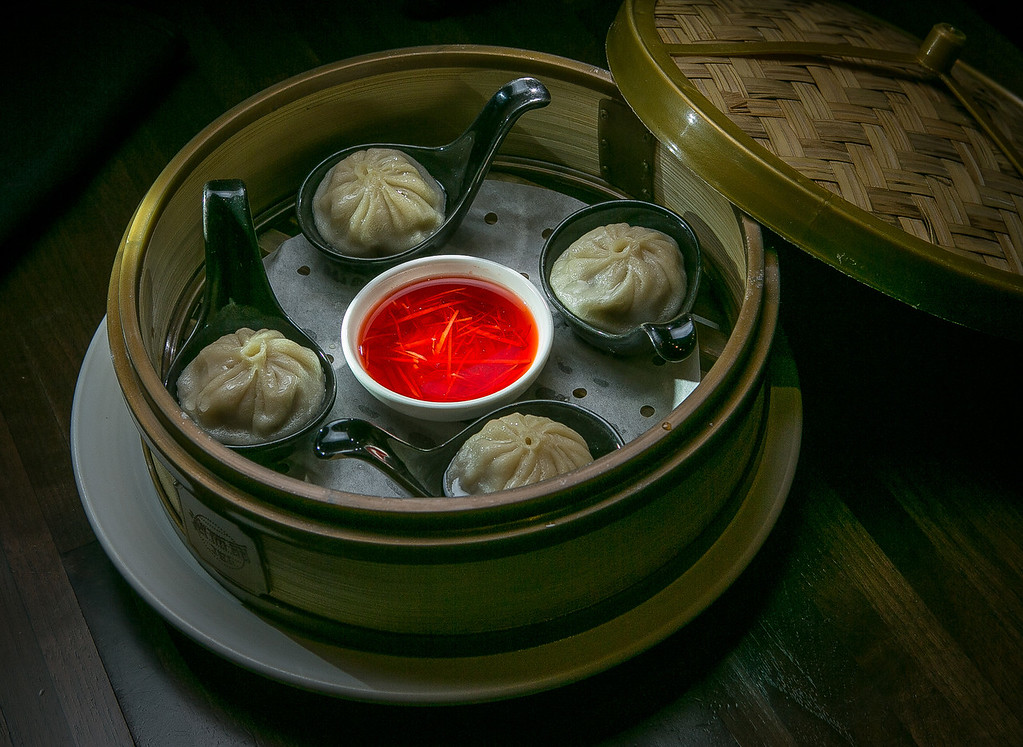 The Wild Boar Juicy Dumplings at My China restaurant in San Francisco, Calif. are seen on Saturday, January 19th, 2013.