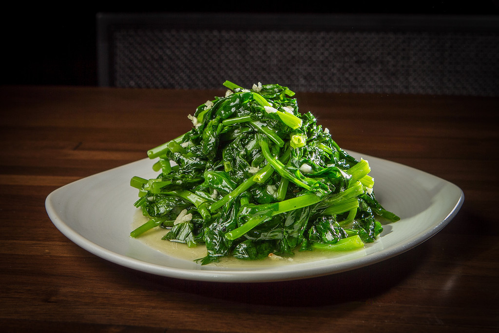 The Garlic Pea Shoots at My China restaurant in San Francisco, Calif. is seen on Saturday, January 19th, 2013.