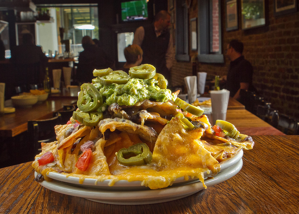 The Old Ship Nachos at the Old Ship Saloon in San Francisco, Calif., is seen on Monday April 2nd, 2012.