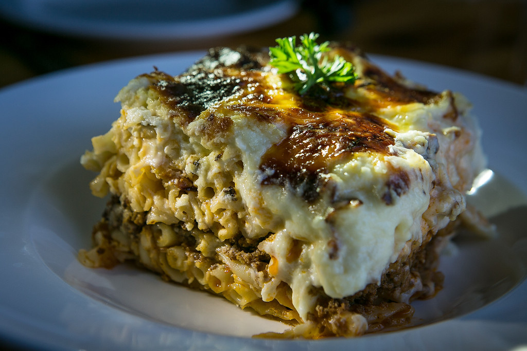 The Pasticcio special at Orexi restaurant in San Francisco, Calif., is seen on Wednesday, January 9th, 2013.
