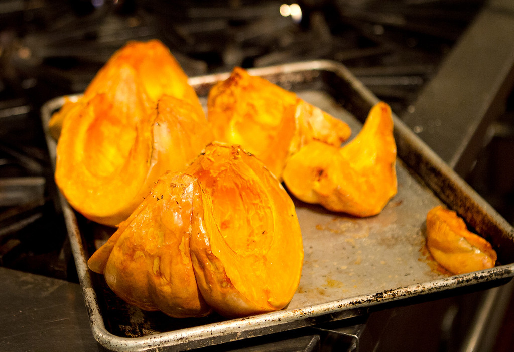 Roasted Squash at Origen restaurant in Berkeley, Calif., is seen on Thursday, February 2, 2012.