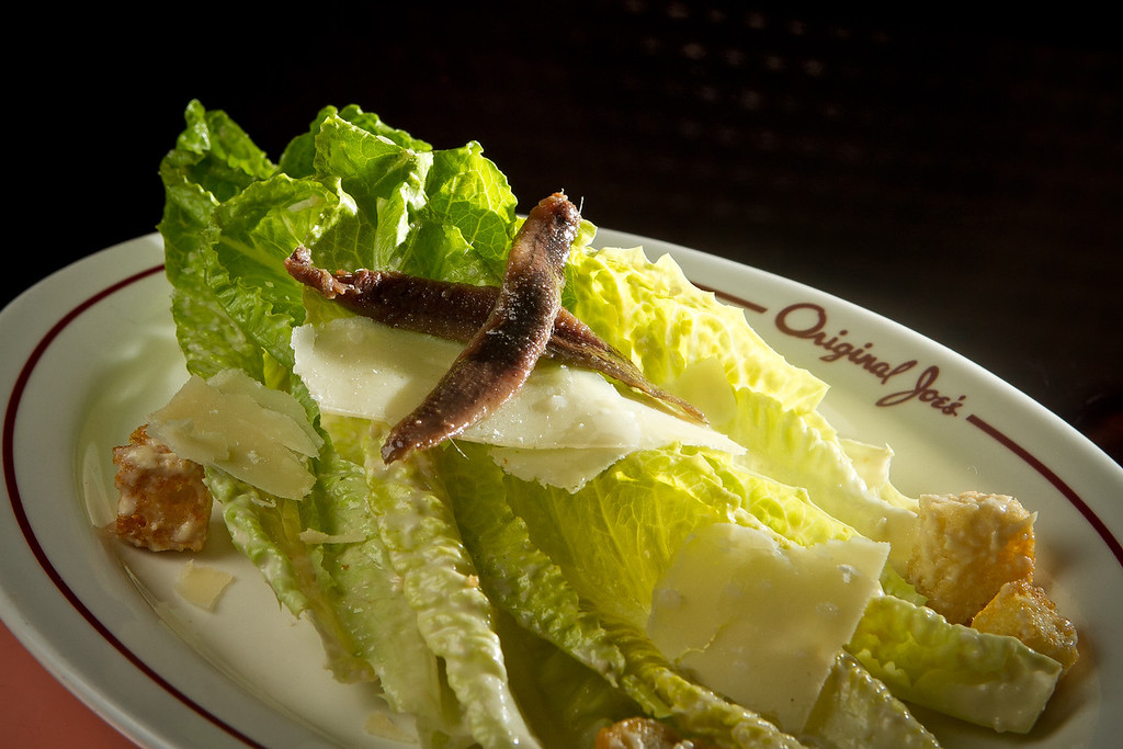 The Caesar Salad at Original Joe's Restaurant in San Francisco,  Calif., is seen on Tuesday, March 20th, 2012.