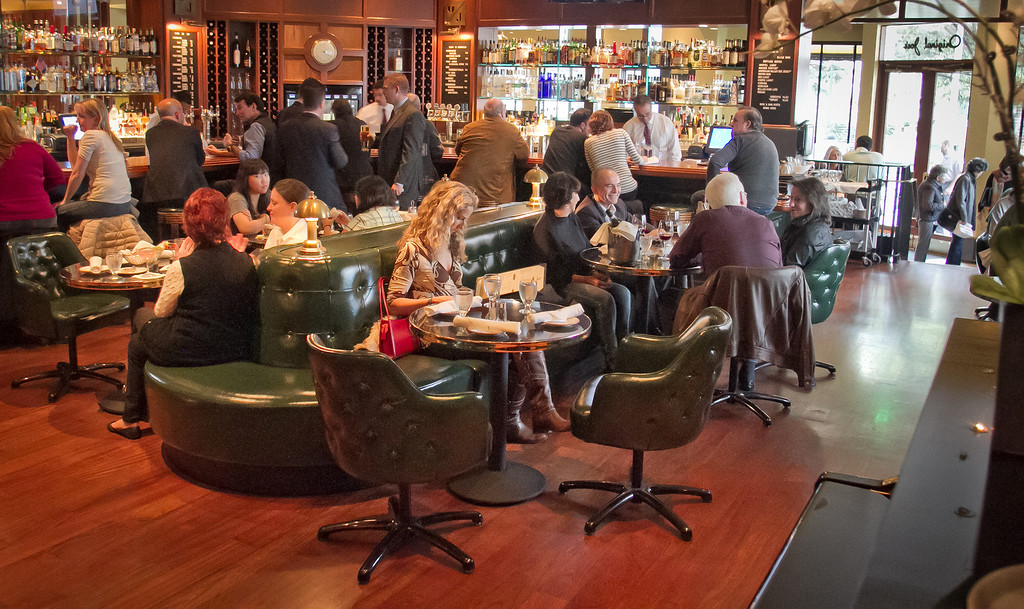 The bar at Original Joe's Restaurant in San Francisco,  Calif., is seen on Tuesday, March 20th, 2012.