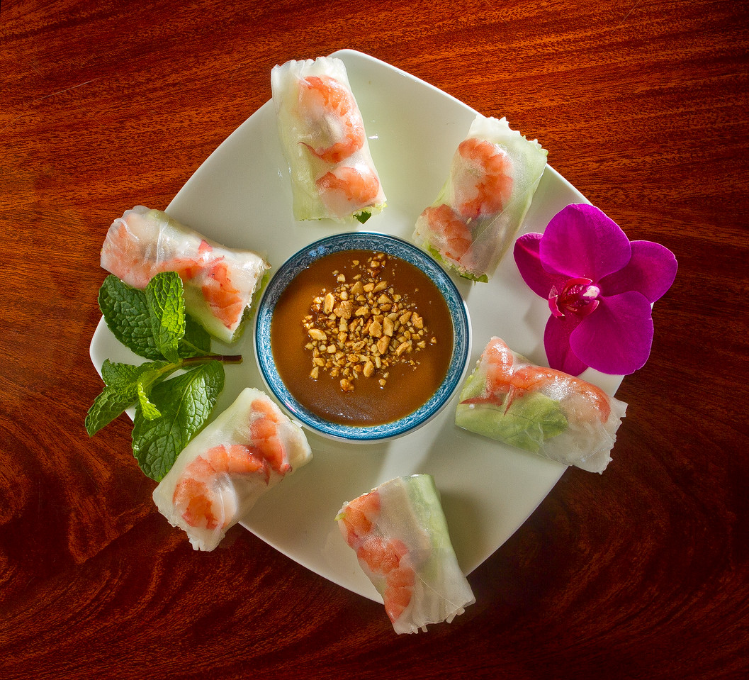 The fresh Spring Rolls at Pho Vet Restaurant in San Rafael, Calif., is seen on Wednesday, March 7th, 2012.