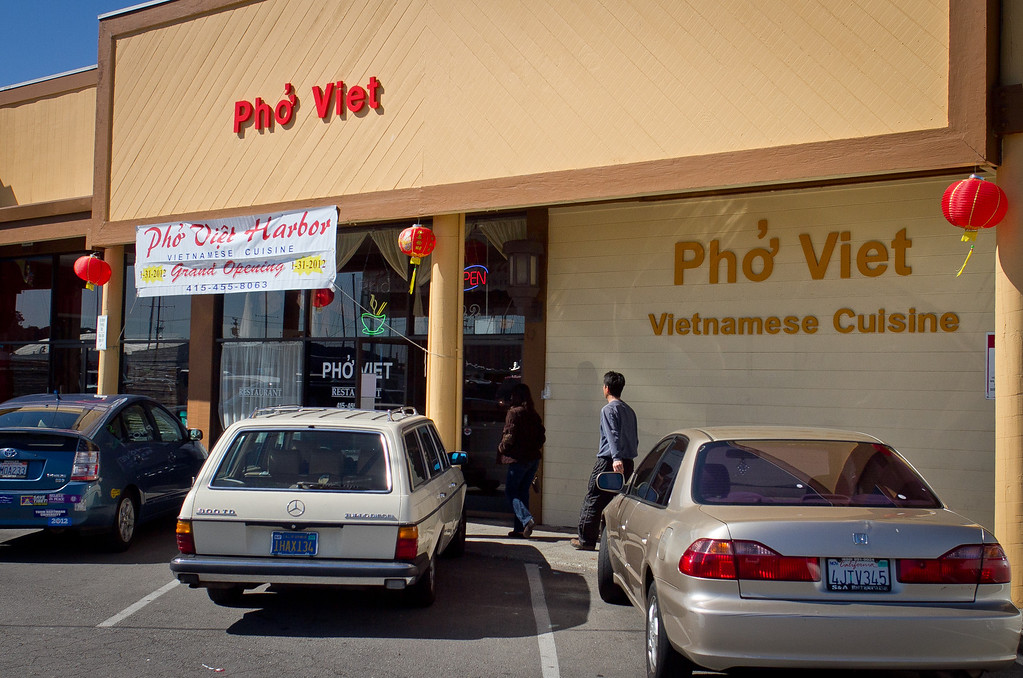 The exterior of Pho Vet Restaurant in San Rafael, Calif., is seen on Wednesday, March 7th, 2012.
