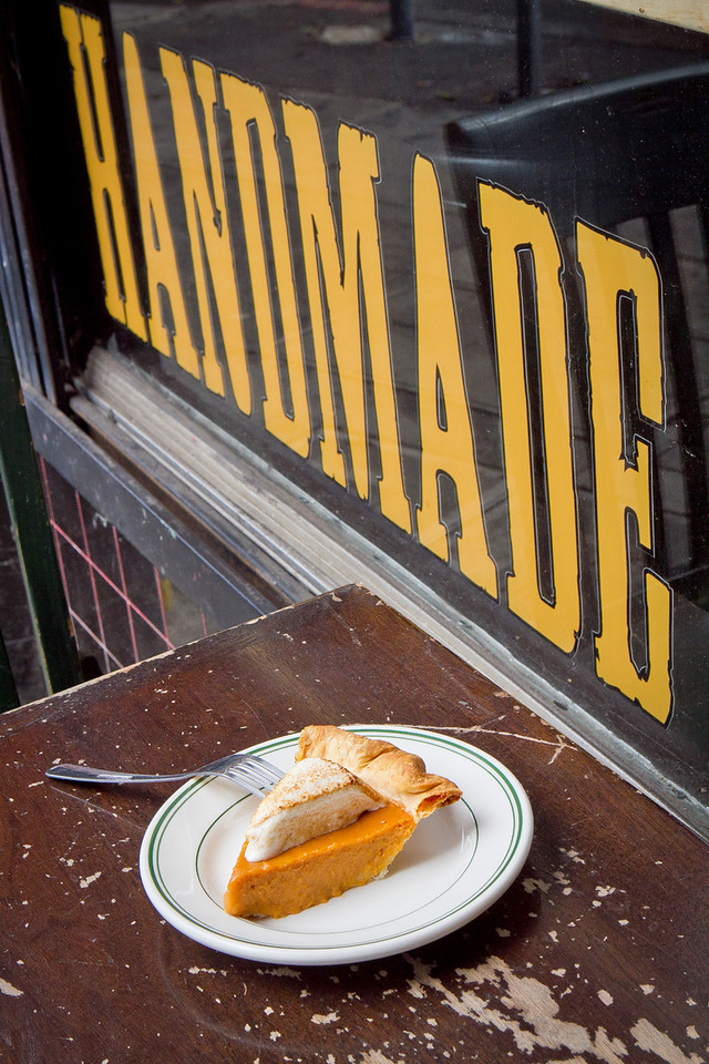 The Sweet Potato Pie at Pig and Pie restaurant in San Francisco, Calif.,  is seen on Thursday, Oct.25th, 2012