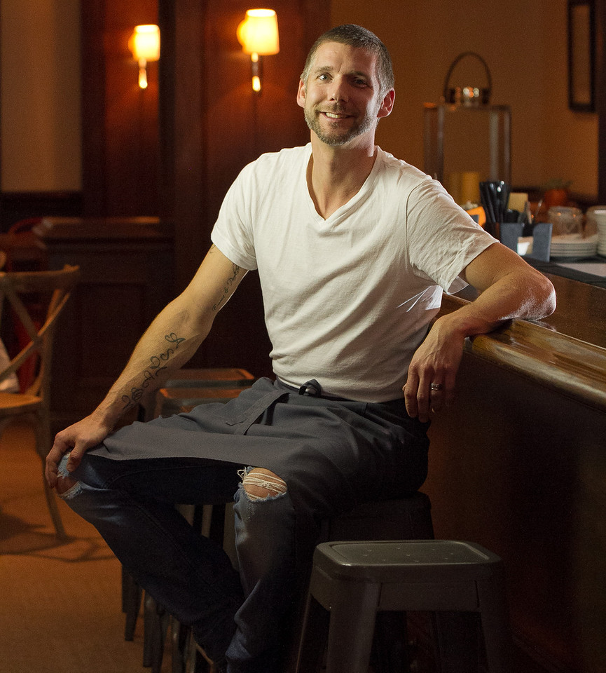 Chef Roberth Sundell at his restaurant Plaj in San Francisco, Calif., on Saturday, September 1st, 2012.