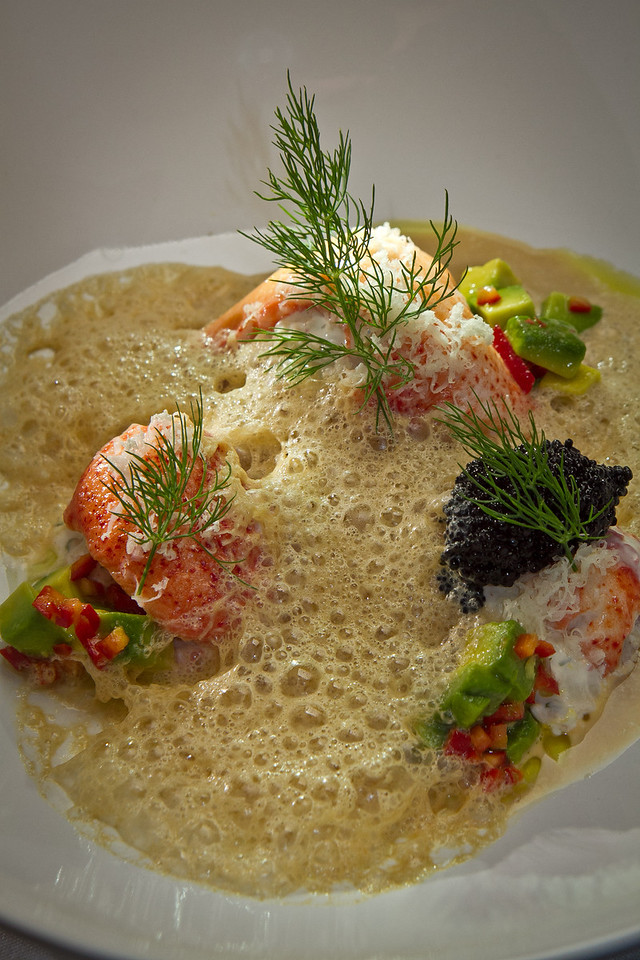The Krondill poached Lobster at Plaj restaurant in San Francisco, Calif., is seen on Saturday, September 1st, 2012.