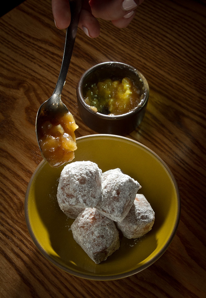 The Brioche Donuts at the Plum Bar in Oakland, Calif., are seen on Thursday, January 19th, 2012.