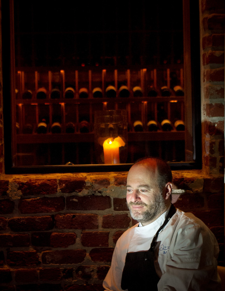 Chef Michael Tusk at Quince Restaurant in San Francisco, Calif., is seen on Thursday April 6th, 2012.