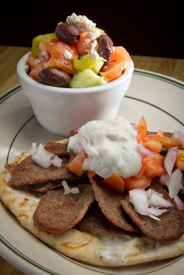 The Gyros at the Redwood Cafe in San Rafael, Calif., is seen on Friday, January 27th, 2012.