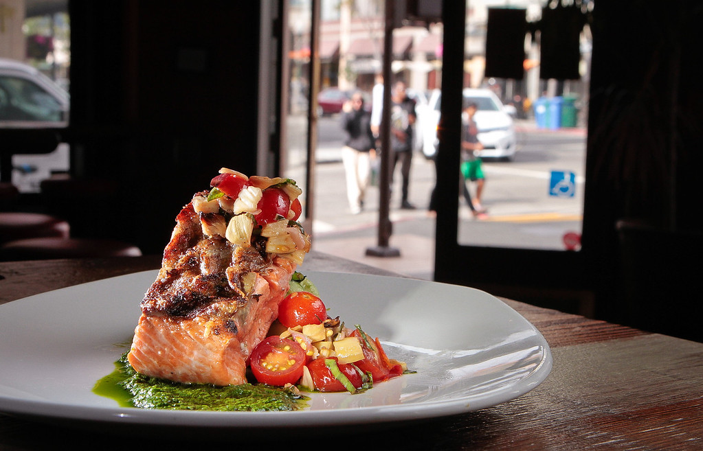 The Wild California King Salmon at Revival Bar & Restaurant in Berkeley, Calif., is seen on Wednesday, July 25th, 2012.