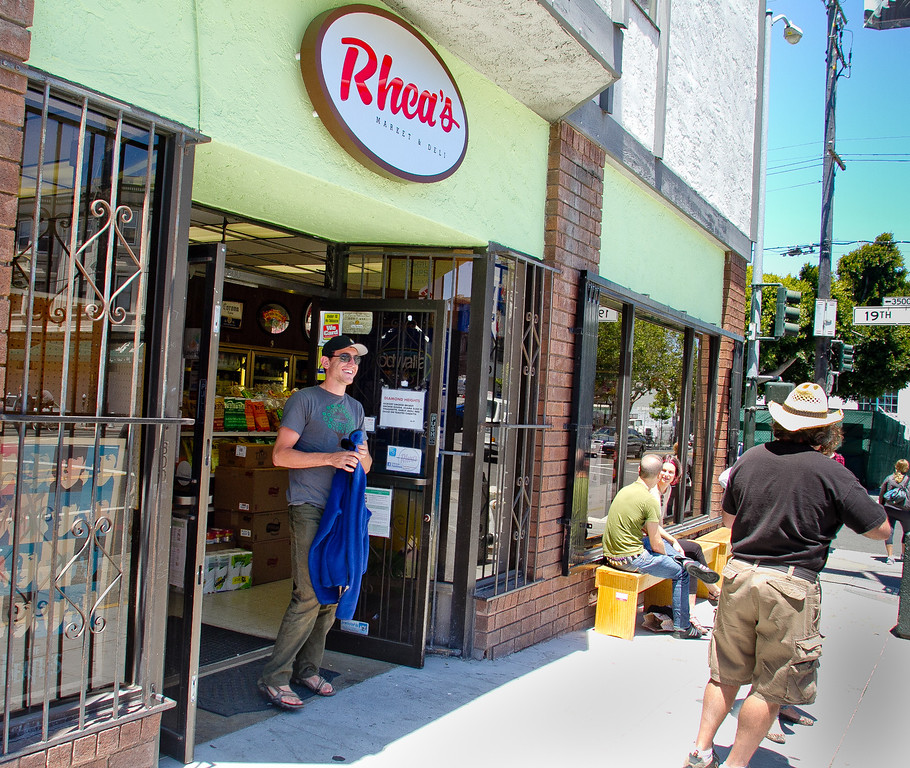The exterior of Rhea's Deli in San Francisco, Calif., is seen on Wednesday,  June 6th, 2012.