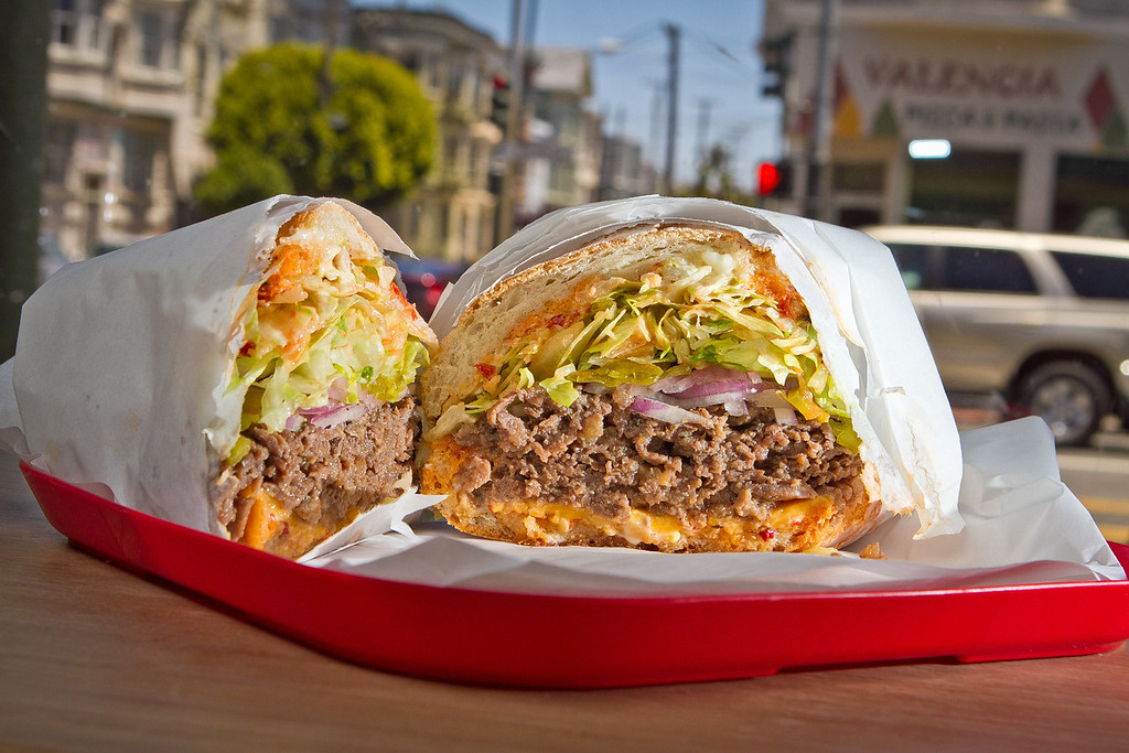 The Korean Steak sandwich at Rhea's Deli in San Francisco, Calif., is seen on Wednesday,  June 6th, 2012.