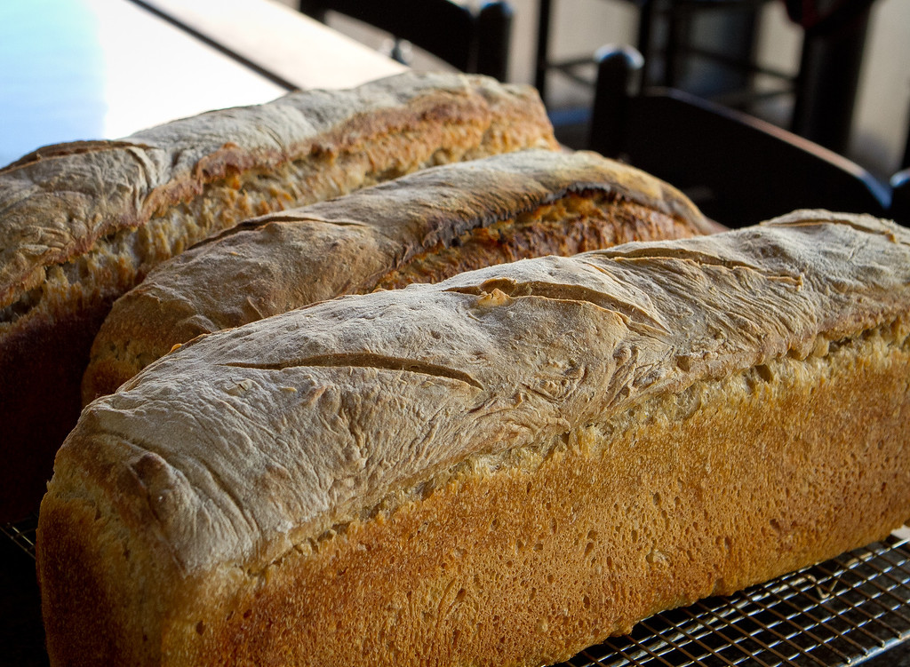 Freshly baked bread at Rich Table in San Francisco is seen on Wednesday, September 19th, 2012.